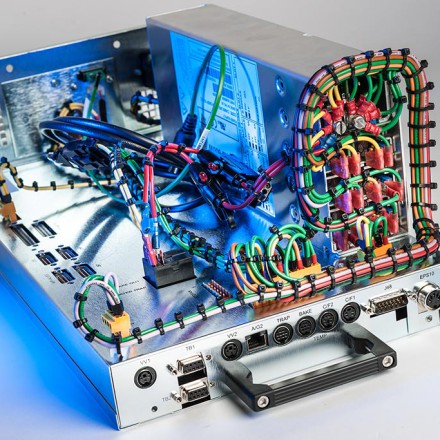 Picture of Control Panel Wiring and electro mechanical assembly