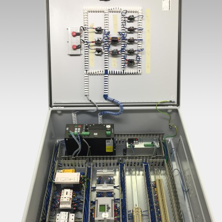 Picture of a Control Panel Wiring
