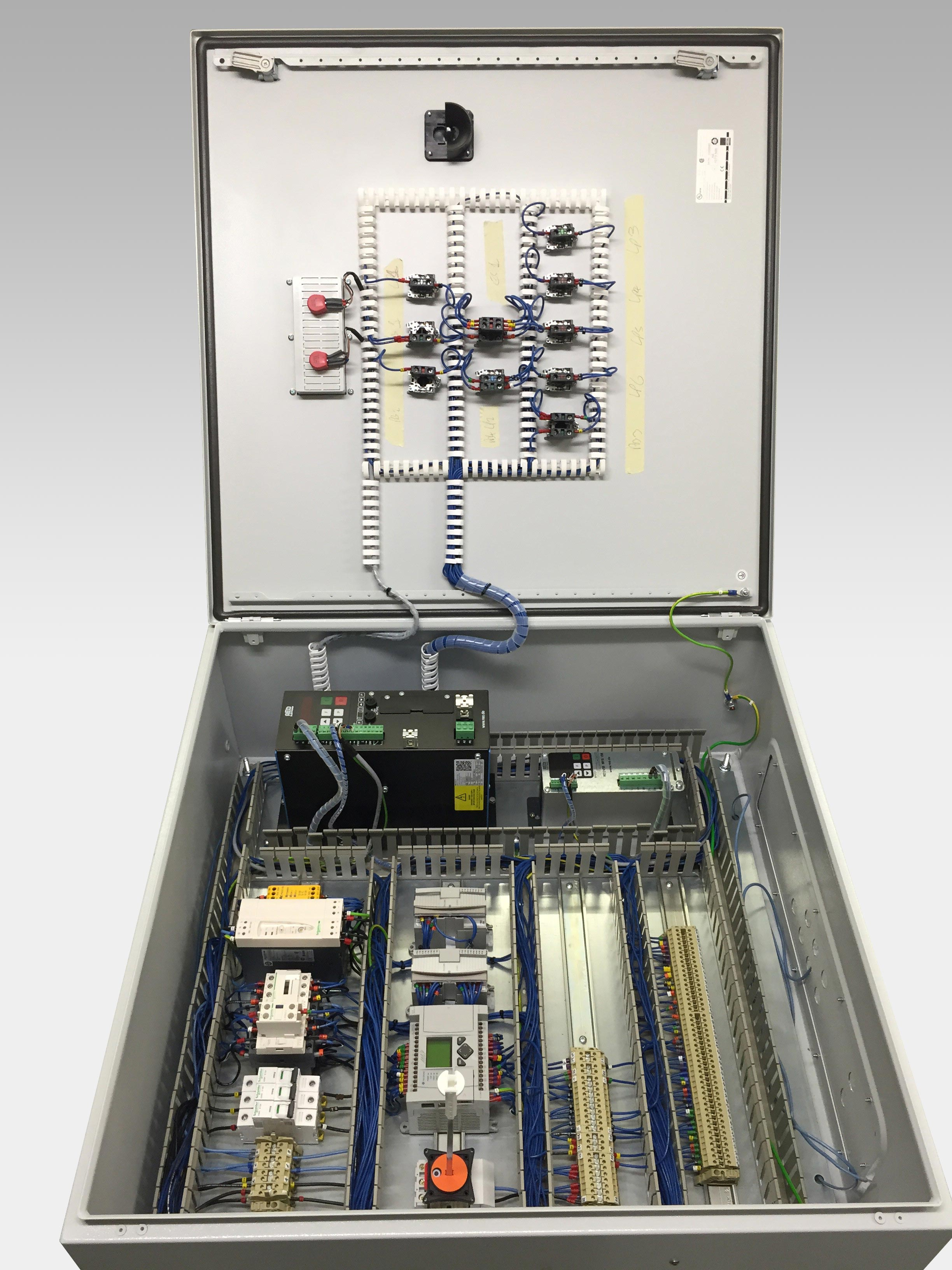 control unit panel wiring midway manufacturing rh midwaymanufacturing co uk Electrical Control Panel Components Control Panel Schematics